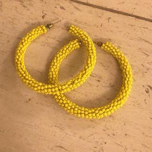 Yellow hoops